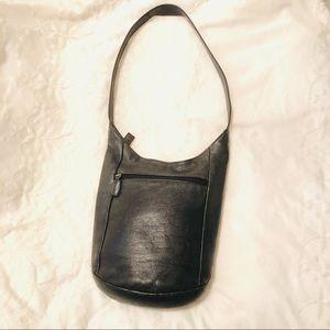 The Sak leather Bucket Purse GUC